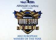Tasting: 2012 European Winery of the Year, Arnaldo Caprai